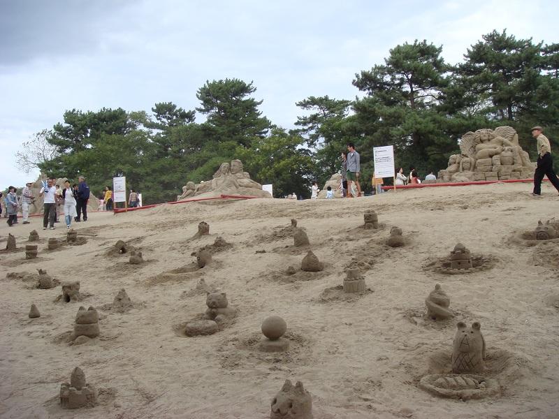 砂像作成イベント