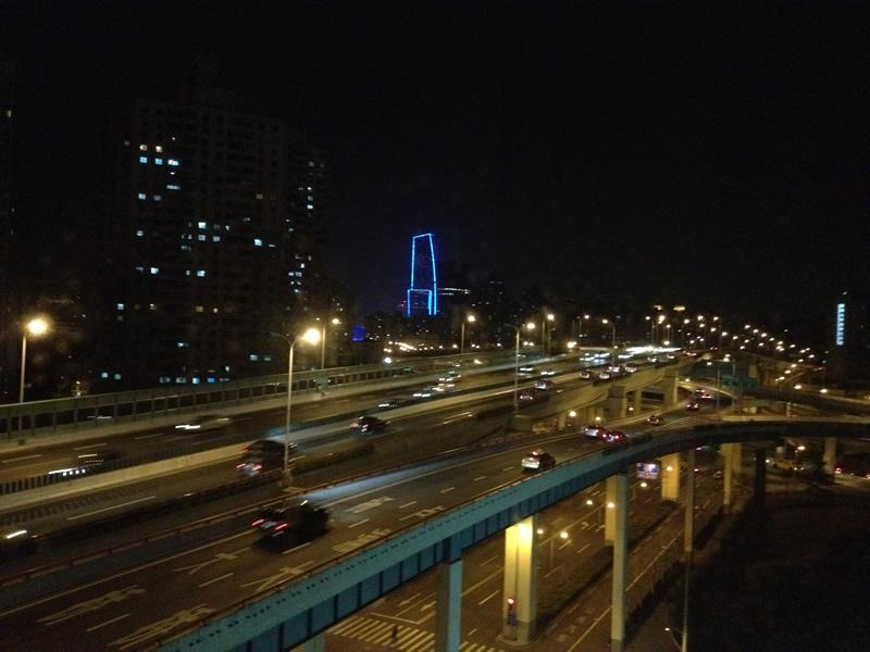 虹橋賓館夜景