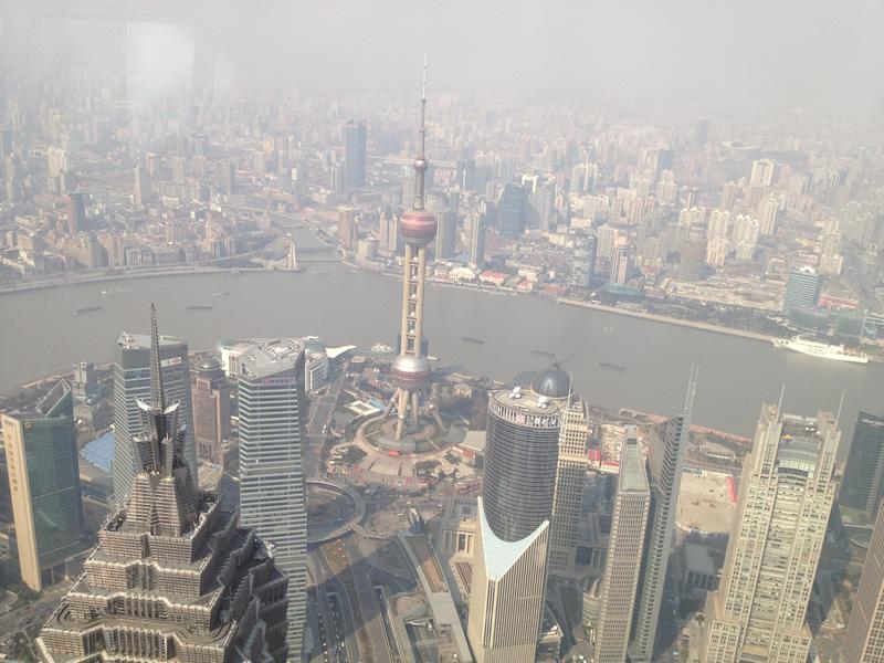 上海環球金融中心展望台