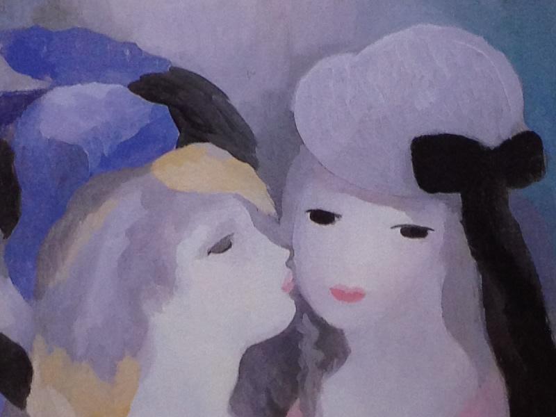 ローランサン接吻