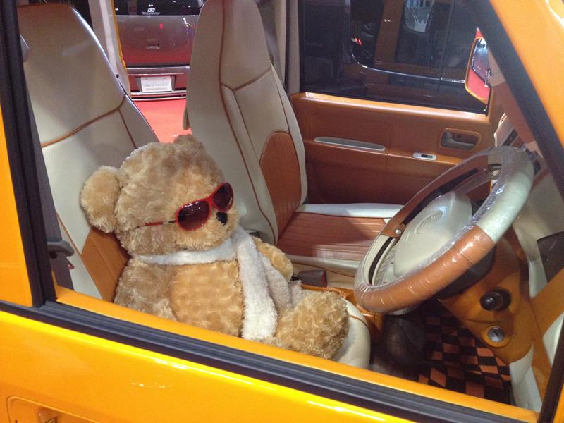 熊の運転手