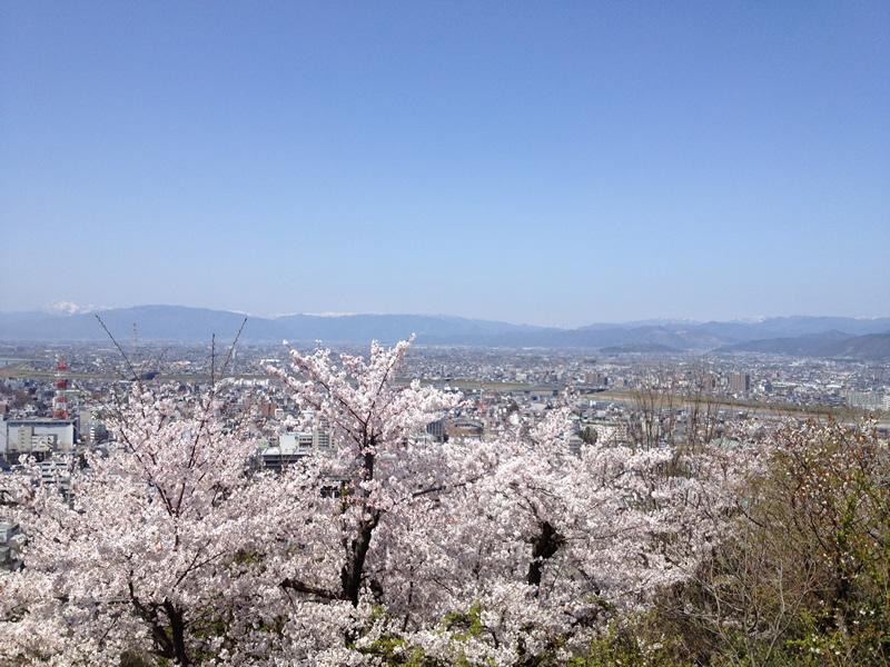 水道山展望台からの風景