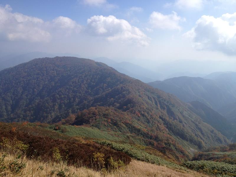 能郷白山からの展望