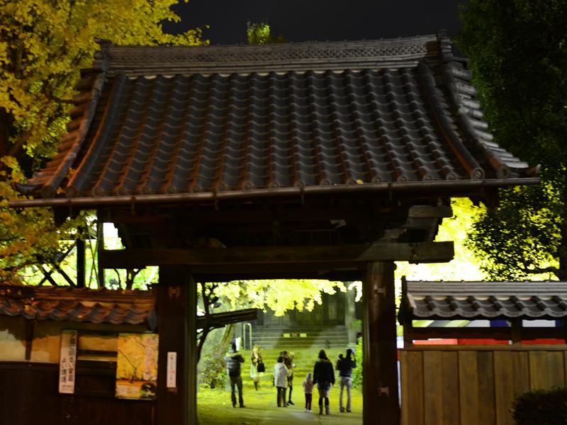 祐専寺の門