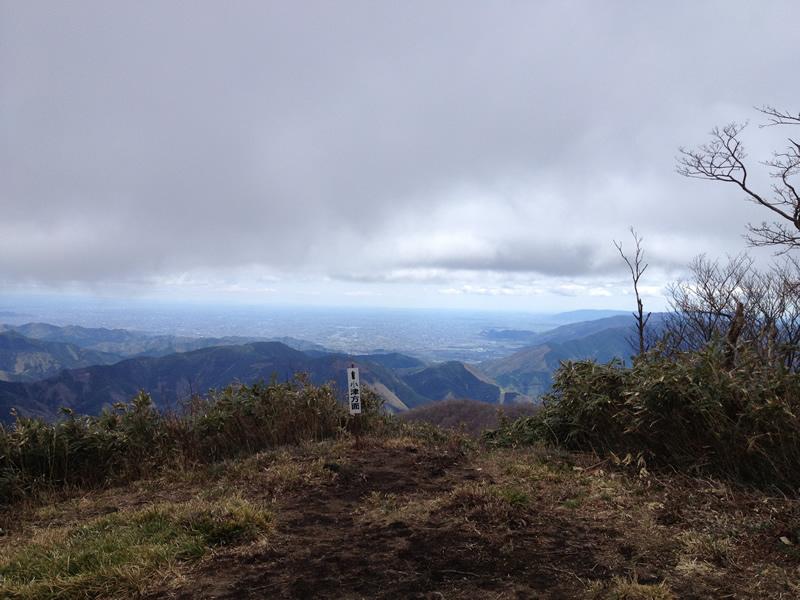 権現山頂上から小津方向
