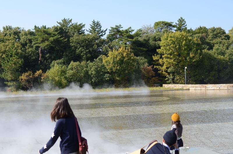 Fog Sculpture #47636 風の記憶