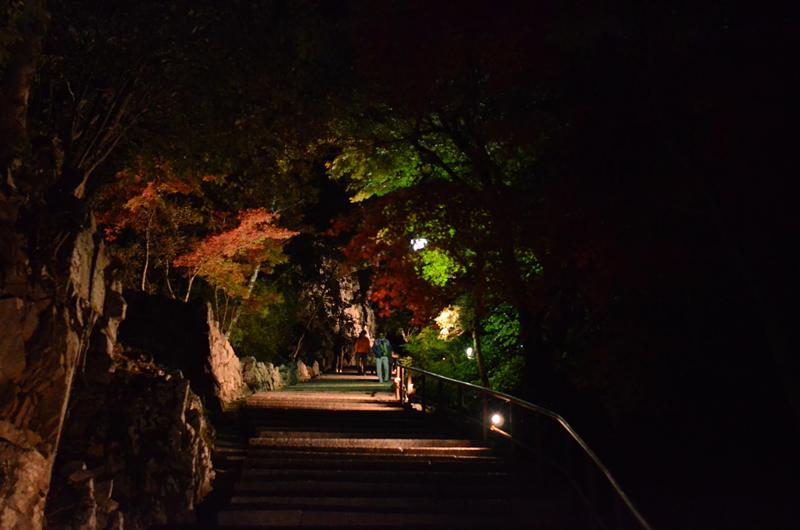 永源寺へ向かう階段道