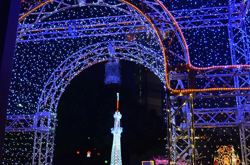 三川公園スカイツリー