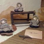 手編みの冬ぼうし