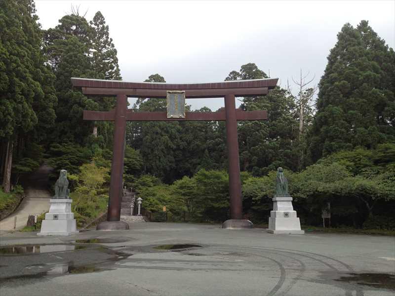 秋葉山本宮秋葉神社 入口