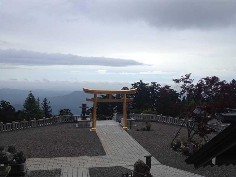 秋葉山から浜松方面を望む