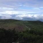 白山での景色