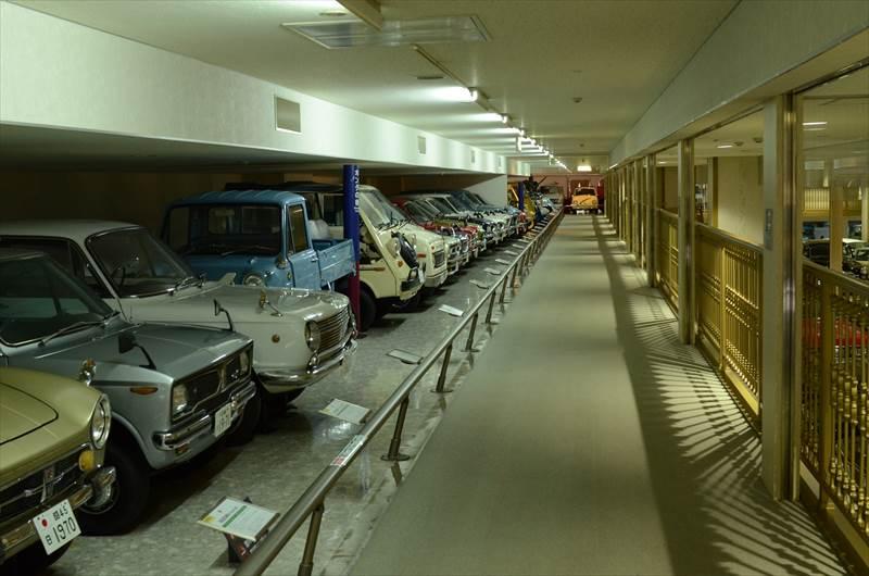 日本自動車博物館内