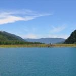 白水湖と大白川ダム