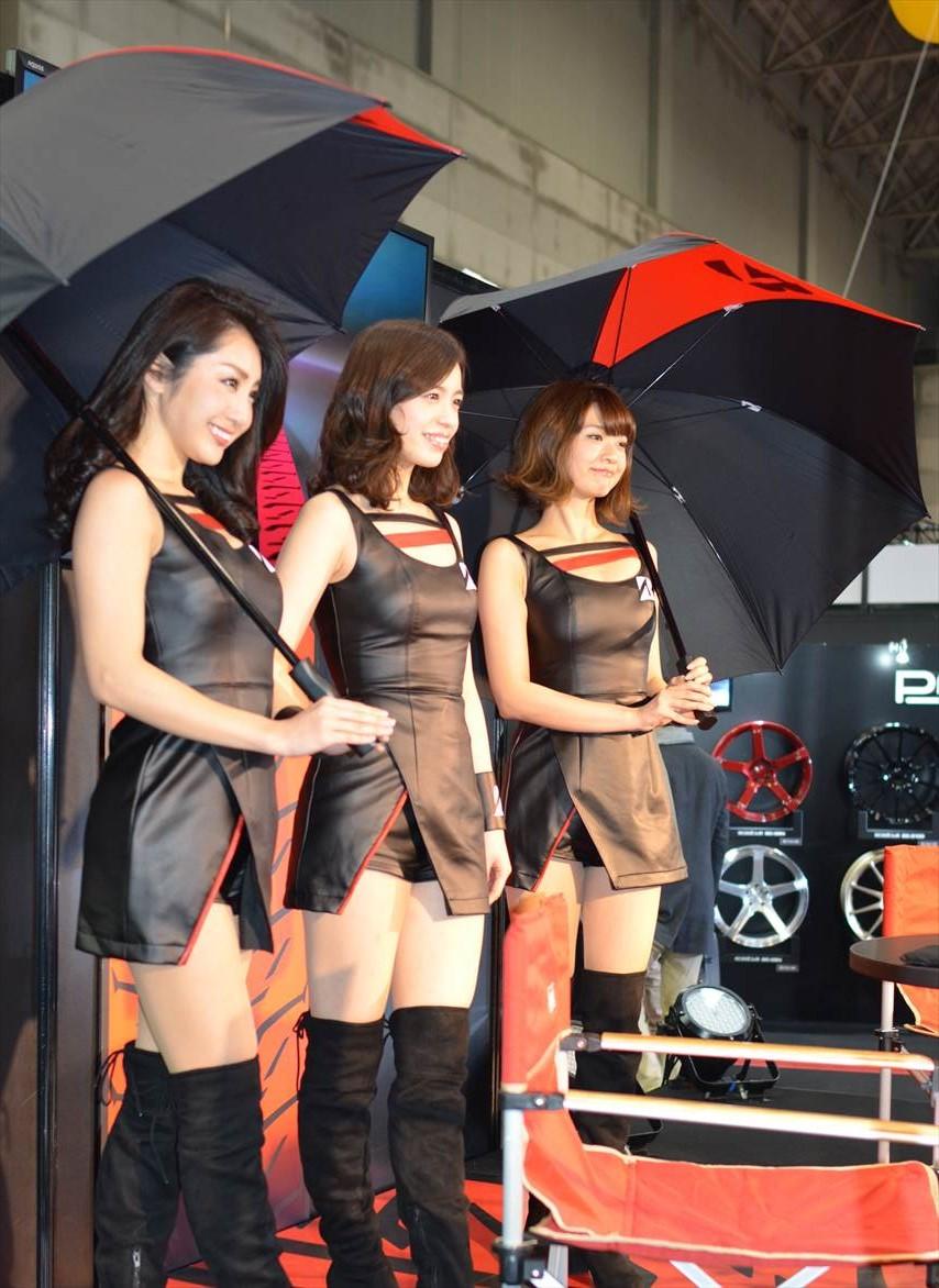 名古屋オートトレンド2017 コンパニオン(ブリジストン)