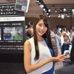 名古屋モーターショー2017 ベンツコンパニオン