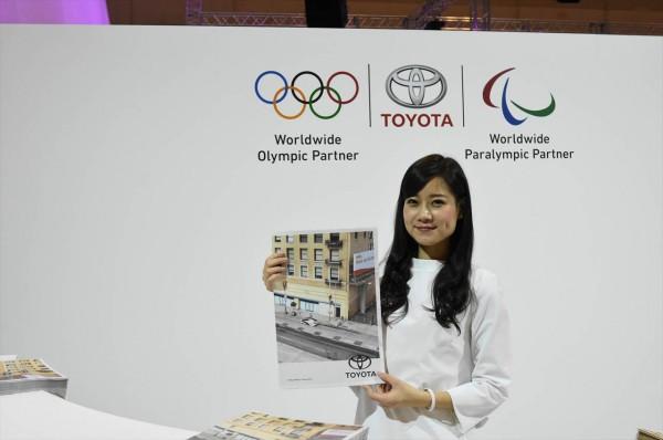 名古屋モーターショー2017 トヨタ受付嬢