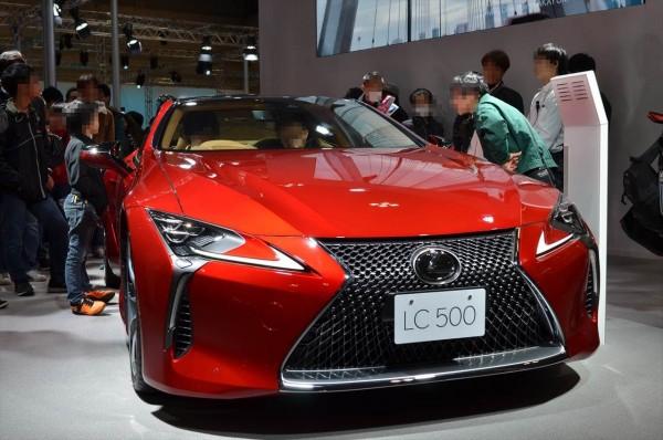 名古屋モーターショー2017 LC500