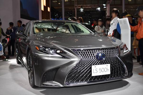 名古屋モーターショー2017 LS500h