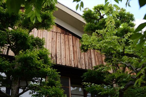 京都寺田屋の外壁
